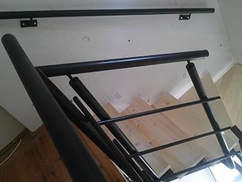 Lépcső fémszerkezet